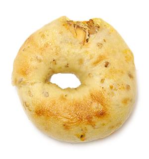 タンドリーチキン&ポテトサラダベーグル