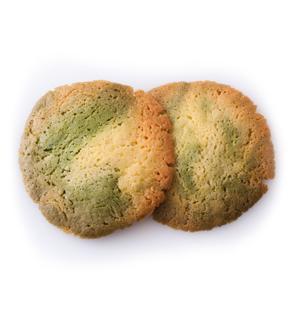 ドロップクッキー(抹茶マーブル)